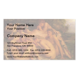 Infancy of Zeus by George Frederick Watts Double-Sided Standard Business Cards (Pack Of 100)