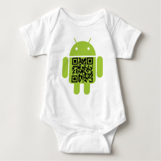 Infant Android Baby Bodysuit