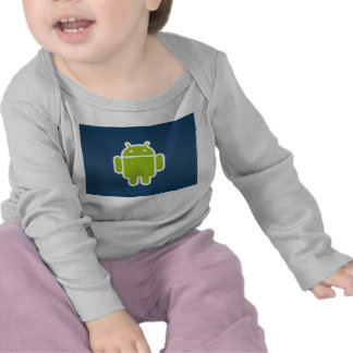 Infant Android Long Sleeve Short Tee Shirts