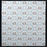 "Infant Baby Boy Blue Elephant Shower Gift Cloth Napkin<br><div class=""desc"">This is a beautiful custom gift that's perfect for any baby,  toddler,  youth,  mom to be,  new mom,  baby shower.</div>"