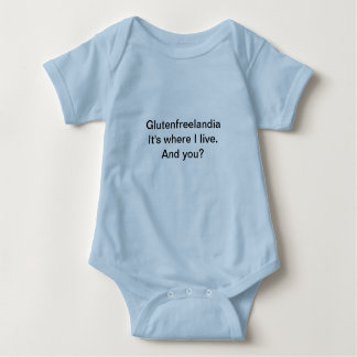 Infant Blue One-piece Tshirts