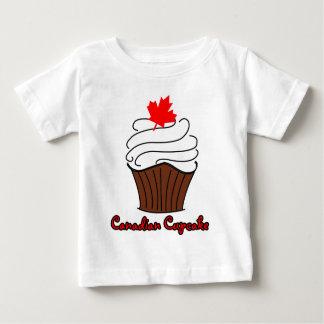 Infant Canadian Cupcake Tee