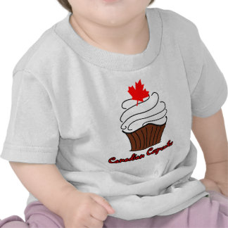 Infant Canadian Cupcake Tee