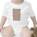 Infant Clothing with Fun Diamond Design Creeper
