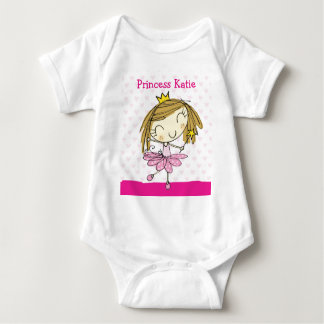 ♥ INFANT CREEPER ♥ cute pink princess custom name