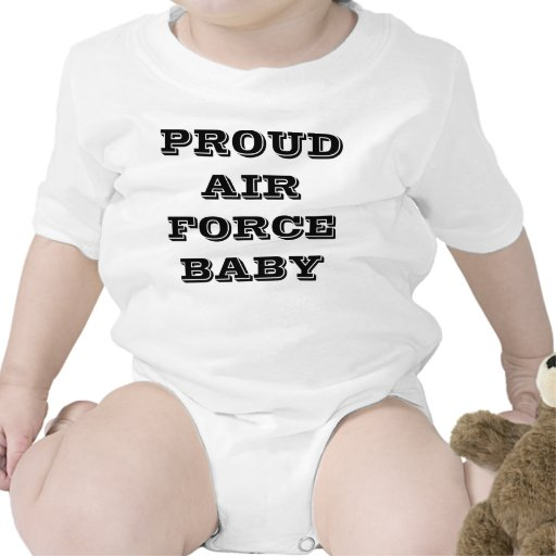 Infant Creeper Proud Air Force Baby
