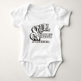 Infant Creeper w/ Skull Valley, Arizona Logo