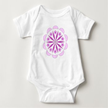 Infant Creeper With Modern Colorful Pattern by Casefashion at Zazzle