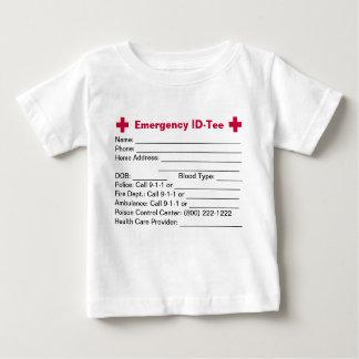 Infant Emergency ID-Tees/Creepers Tee Shirt