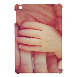 Infant hand iPad mini cases