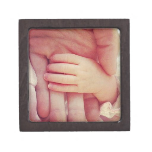 Infant hand premium jewelry boxes