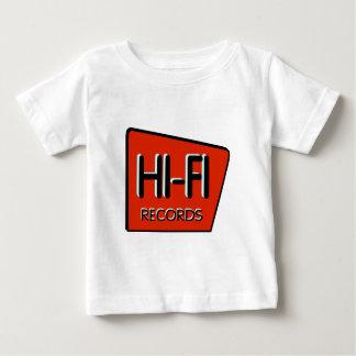"Infant ""HI-FI"" Retro Red Design T-Shirt"