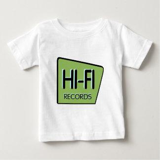 """Infant """"HI-FI"""" Vintage Green Sign T Shirt"""