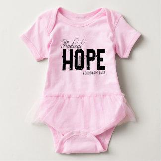Infant HOPE Tutu Onsie Baby Bodysuit