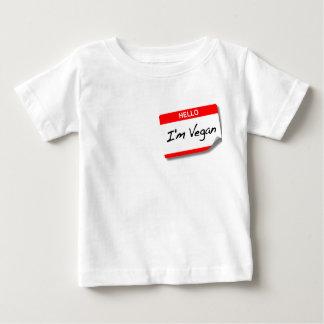 Infant I'm Vegan Shirt