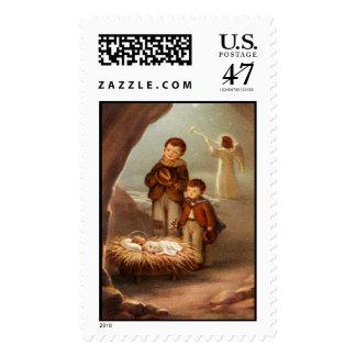 Infant Jesus 15B Custom Postage Stamp