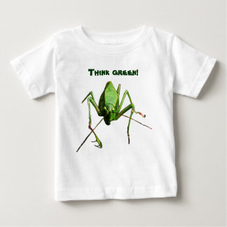 Infant Katydid Think Green Baby T-Shirt