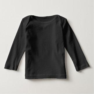 Infant Long Sleeve Baby T-Shirt Black