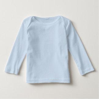 Infant Long Sleeve Baby T-Shirt Light Blue