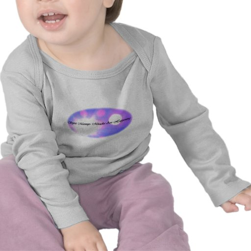 Infant Long Sleeve Tee Shirt with Spirit Message