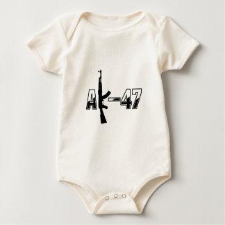 Infant Long SleeveT-Shirt Template - Customized Baby Bodysuit