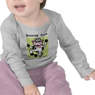 Infant Longsleeve - Dancing Cow Tshirt