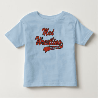 Infant Mud Wrestling Champion Tshirt
