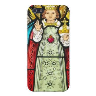 Infant Of Prague Stained Glass Covers For iPhone 5