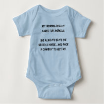 Infant Onsie -...Save a horse..Ride a Cowboy Baby Bodysuit