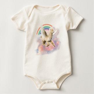 Infant Organic Creeper: Flyin Paca Baby Bodysuits