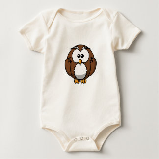 Infant Organic Creeper, Natural Baby Bodysuit