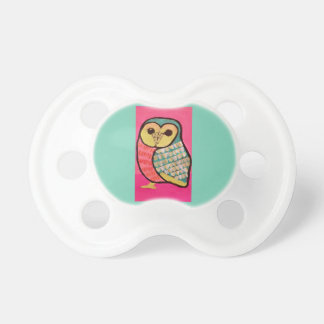 Infant Pacifier with Wise Owl Design