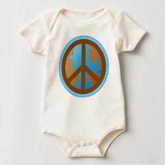 Infant Peace Earth Environment Gift Tee