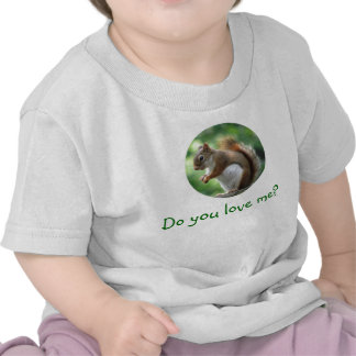 Infant Red Squirrel T-shirts