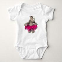 Infant Rhino White T-Shirt