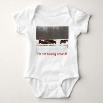 Infant Shirt - Horses