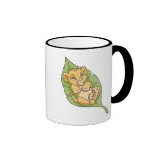 Infant Simba Disney Ringer Coffee Mug