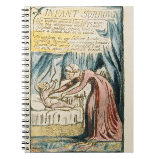 'Infant Sorrow', plate 39 (Bentley 48) from 'Songs Spiral Notebook