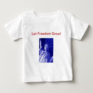 Infant Statue of Liberty T-shirt