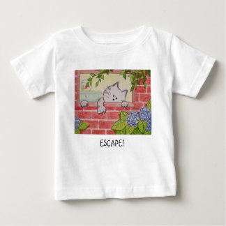 """Infant T-Shirt """"Escape"""" by Paws Here and Shop"""