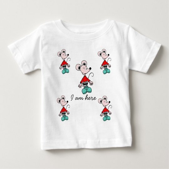 """infant  t-shirt """"mouse"""""""