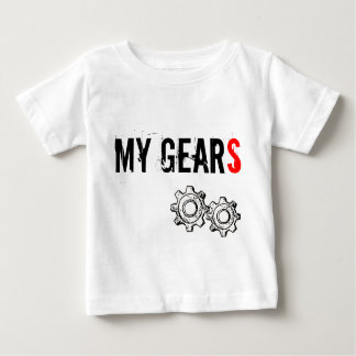 "Infant T-shirt, ""MY GEARS"" Baby T-Shirt"