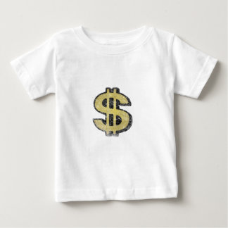 Infant Tee with Big Yellow Dollar Sign