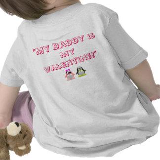 Infant/Toddler Daddy's Valentine Girl T-Shirt