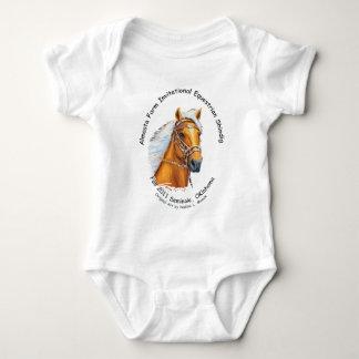 Infant Tshirt, Almosta Farm Shindig Trail Ride2011 Baby Bodysuit