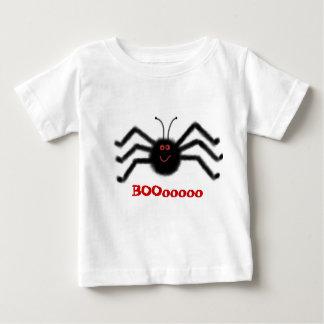 Infant TShirt Black Spider BOOooooo Halloween