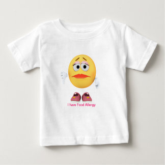 Infant with Food Allergy Shirt