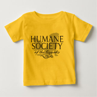 Infant Yellow Hanes Tagless T-Shirt