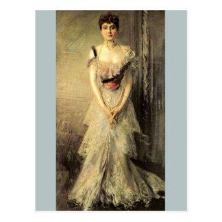 Infanta Eulalia - Boldini Postcard
