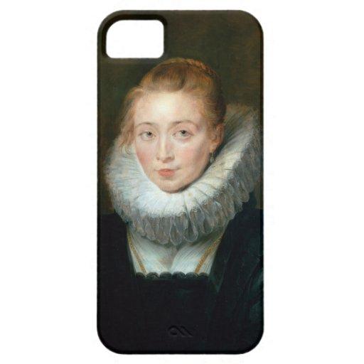 Infanta Isabel Rubens Paul del honor de la criada iPhone 5 Funda